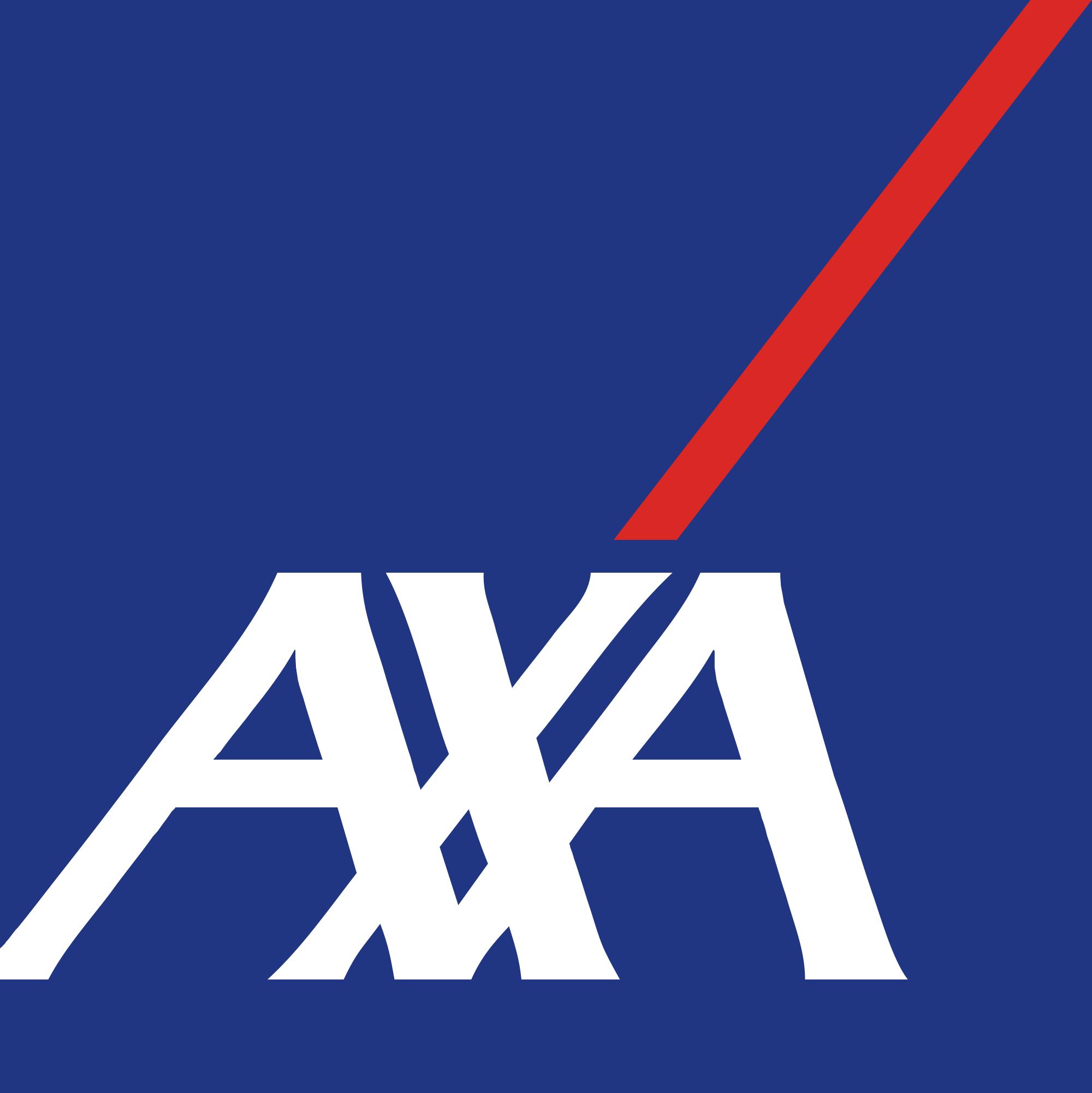 AXA logo.