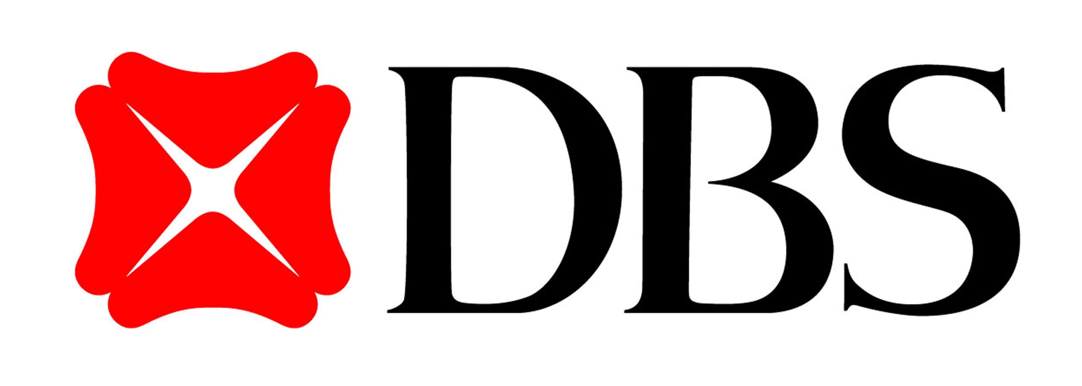 DBS Bank logo.